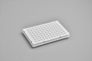 定量PCR專用96孔板 (白色0.1ml,含光學透明封板膜)